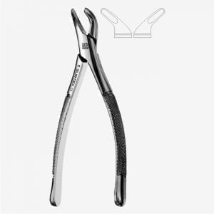 American Pattern Tooth Extraction Forceps (Child) Fig. 151S