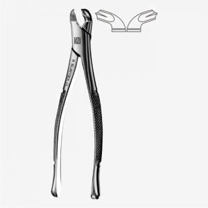 American Pattern Tooth Extraction Forceps Fig. 17
