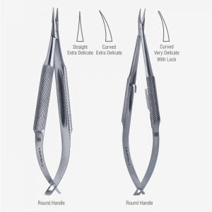 Barraquer-Troutman Micro Needle Holder