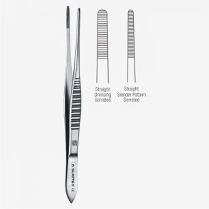 Mod. USA Pattern Dressing Forceps